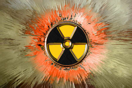 background radiation danger Stock Photo - 8547632