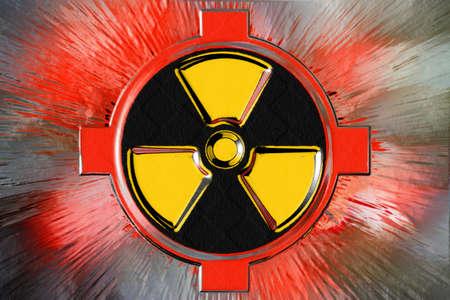 radiation Stock Photo - 8553326