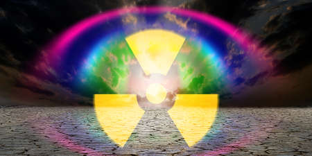 abstract scene as background radiation danger Stock Photo - 8539725