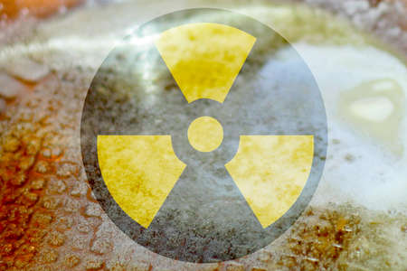 abstract scene as background radiation danger Stock Photo - 8582145