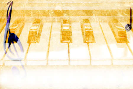 music grunge and texture paper Stock Photo - 8674917