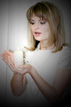 burninging candle photo