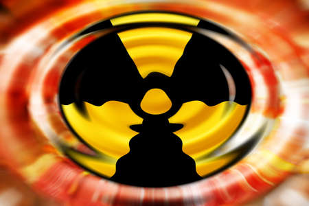 abstract scene as background radiation danger Stock Photo - 8851172