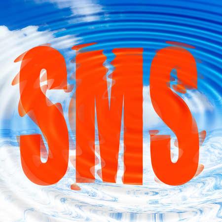 sms Stock Photo