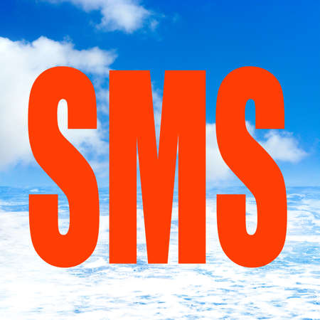 sms Stock Photo