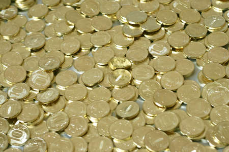 russian metallic coins nominal value ten roubles Stock Photo - 9245980