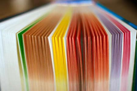 抽象シーンブック シートその他の色 写真素材