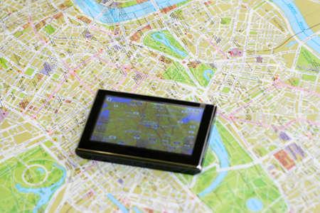 destinos: GPS y mapa