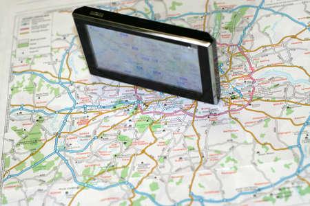 satelite: GPS y mapa