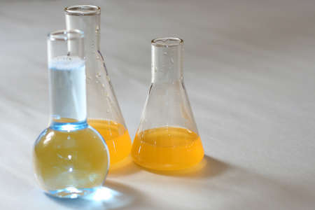 set chemical test tube for undertaking scientific developments Stock Photo - 9340103