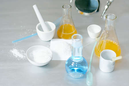chemical experiences Stock Photo - 9340598