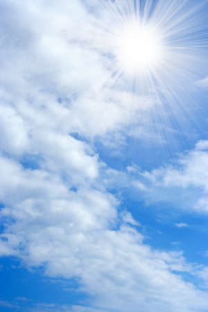 abstract background with solar sky Stock Photo - 9689551