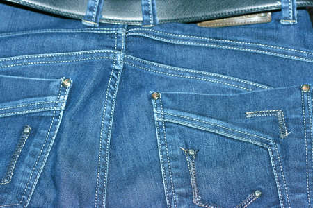 abstract background with texture jeans