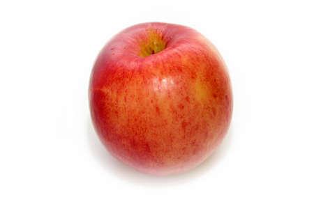 abstract scene ripe apple as bio food background photo