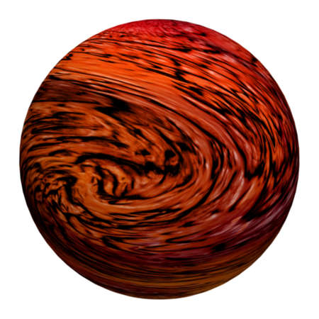 sphere with pattern and texture as background photo