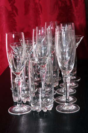 plane table: abstract scene liquor-glass for wine on plane table as background
