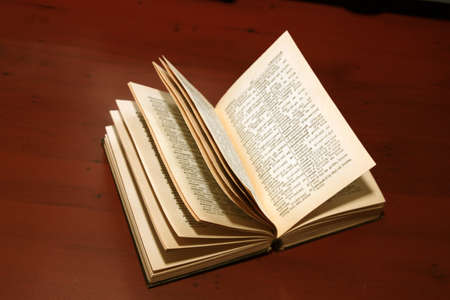 abstract pages of the old book Stock Photo - 12553093