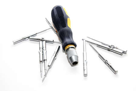 abstract scene screwdriver as industrial background Stock Photo - 12882305