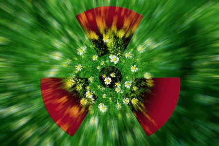 daisywheel: abstract scene daisywheel Stock Photo
