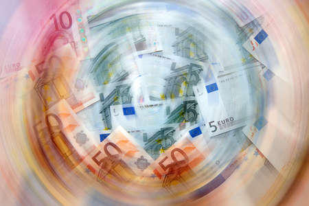 euro as illustration payment trade system