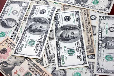 Szene-Dollar als Symbol Kredit-Geld-System Standard-Bild - 14897144