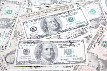 scene dollar as symbol credit money system photo