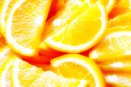 segment fresh orange Stock Photo - 15553049