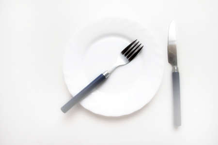 white plate Stock Photo - 15543864
