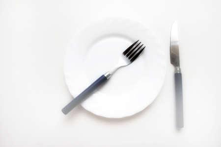 white plate Stock Photo - 15543864