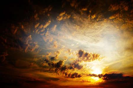 clouds on the dark sky as beautiful celestial landscape Stock Photo - 16234046