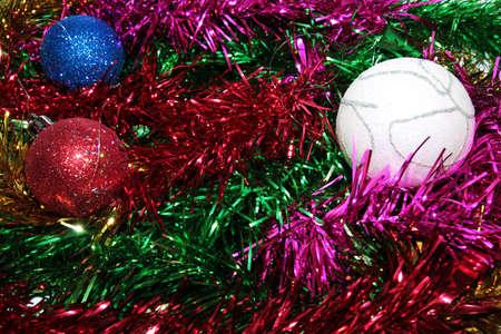 toys for embellishment cristmas spruce as symbol Stock Photo - 16394786