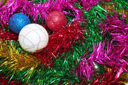 toys for embellishment cristmas spruce as symbol Stock Photo - 16394796
