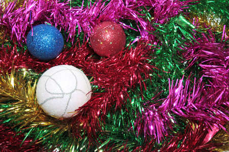 toys for embellishment cristmas spruce as symbol Stock Photo - 16394792