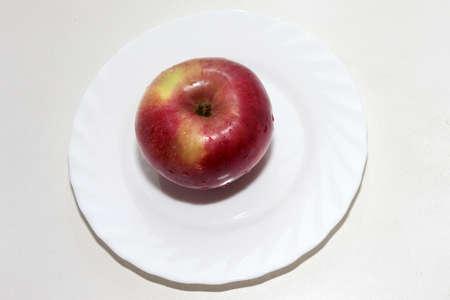 scene beautiful ripe apple as symbol summer Stock Photo - 16460238
