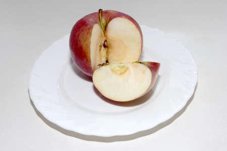 scene beautiful ripe apple as symbol summer Stock Photo - 16460279