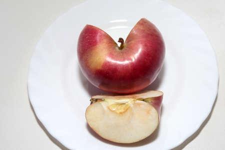 scene beautiful ripe apple as symbol summer Stock Photo - 16460287