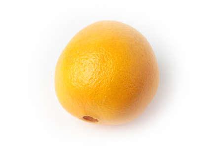 ripe beautiful orange as symbol season harvest Stock Photo - 17115555