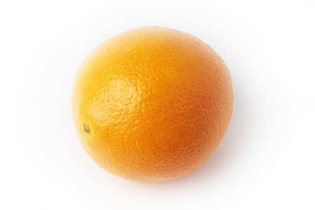 ripe beautiful orange as symbol season harvest Stock Photo - 17115556