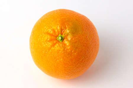 ripe beautiful orange as symbol season harvest Stock Photo - 17115595