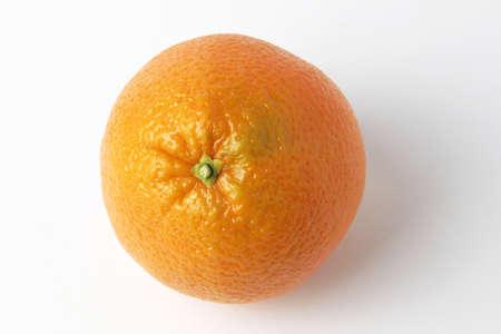 ripe beautiful orange as symbol season harvest Stock Photo - 17115602