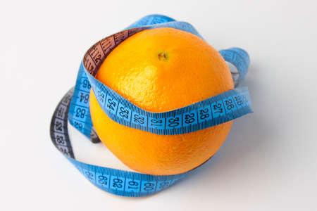 ripe beautiful orange as symbol season harvest Stock Photo - 17115600
