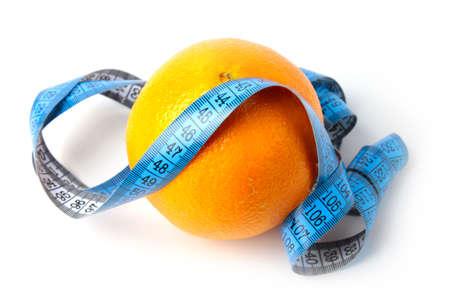 ripe beautiful orange as symbol season harvest Stock Photo - 17115558