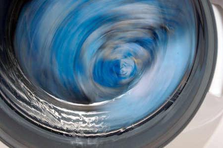 抽象的なドラム洗濯機
