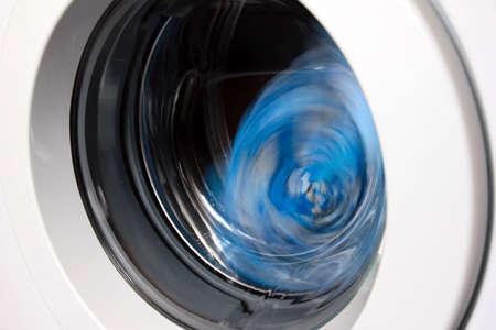 scene door for loading linen and drum washing machine Stock Photo - 17744975