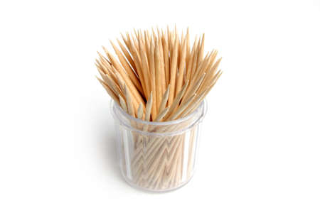 toothpick: wooden toothpick as element care for cavity mouth