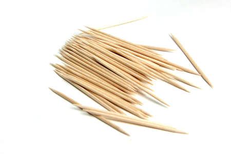 wooden toothpick as element care for cavity mouth photo