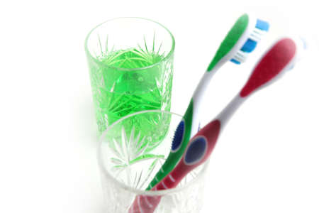 toothbrush for hygiene cavity mouth and cleaning teeths Stock Photo - 17768143