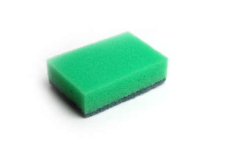 cleaning sponge for economic work and washer dishes photo