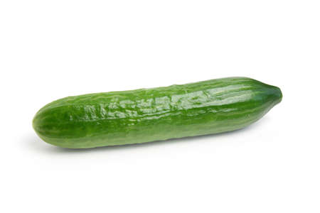 scene beautiful ripe fresh cucumber as element meal