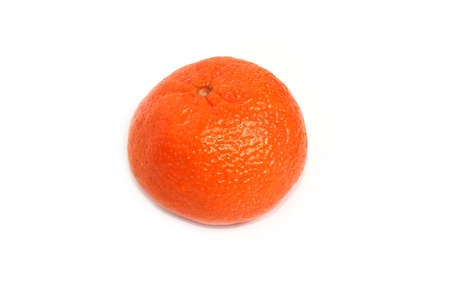 ripe juicy tangerine as element tropics flora photo
